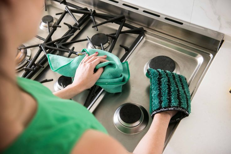 Cleaning with ENJO is as simple as a quick wet, wipe and dry with the Kitchen Glove and Miracle.