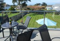 Wonderful views from Sailaway - A large and luxurious contemporary property perfectly located at Constantine Bay.