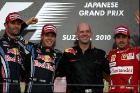 Red Bull racing - двойное доминирование