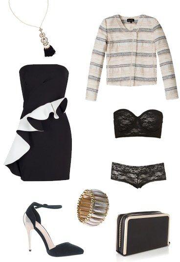 #outfit elegante. Perfetto per una serata romantica