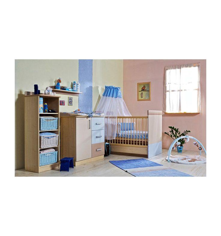 Chambre à coucher bébé complète LIZI- Chambre bébé