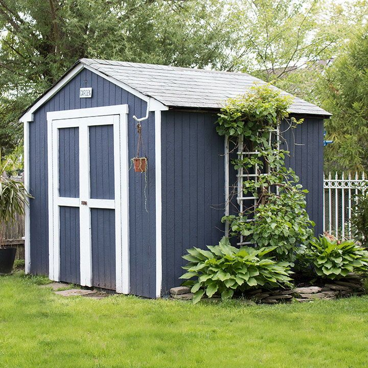 Painted Shed Transformation Painted Shed Shed Garden Shed Interiors