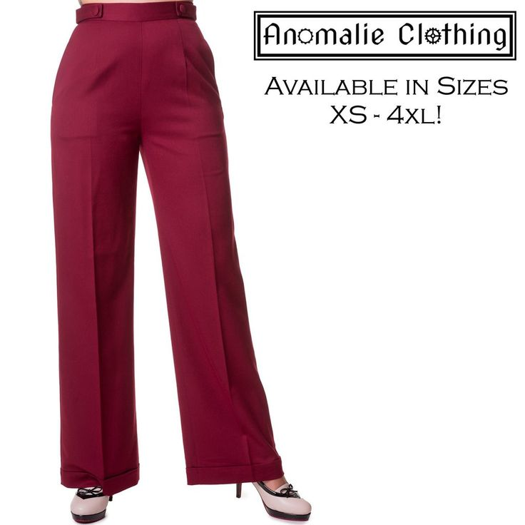 Party On Wide Leg Trousers
