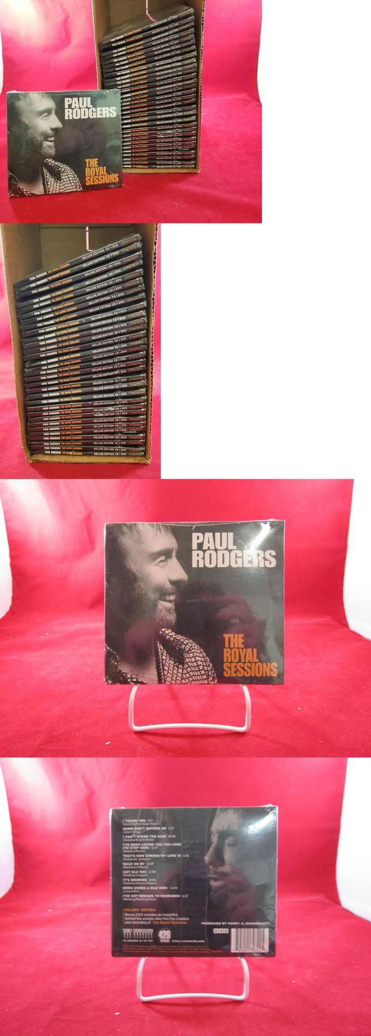 Music Albums: New Lot Of 30 Cd S,: Paul Rodgers (Queen) Deluxe Edition With Bonus Dvd -> BUY IT NOW ONLY: $34.98 on eBay!