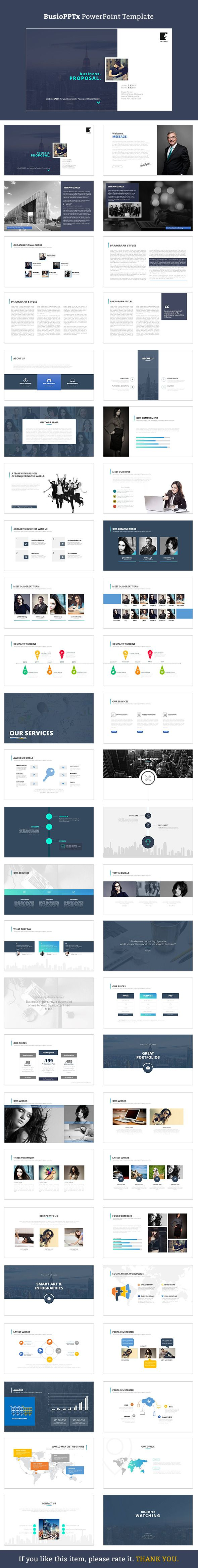 Busio PowerPoint - Business PowerPoint Templates