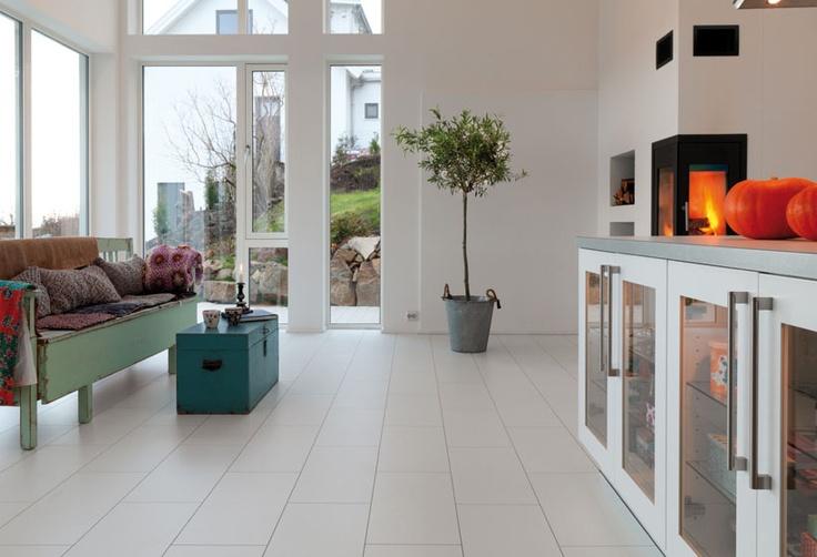 Berry Alloc - white high tec lock laminate flooring. We love it! www.berryalloc.com/us/en/Floors/High-Tech-Laminate/Prestige