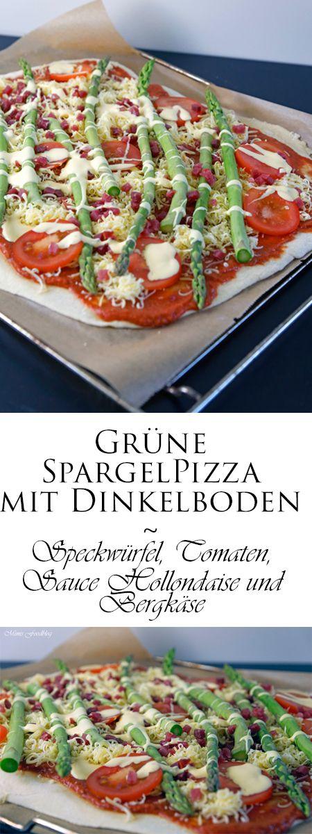 Die grüne Spargelpizza mit Dinkelboden ist für mich dieses Jahr der perfekte Start in die Spargelsaison. Denn Pizza und Spargel passen perfekt zusammen.