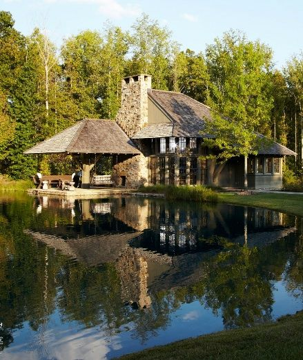 Beautiful Lake Homes: 185 Best Bobby McAlpine Homes Images On Pinterest