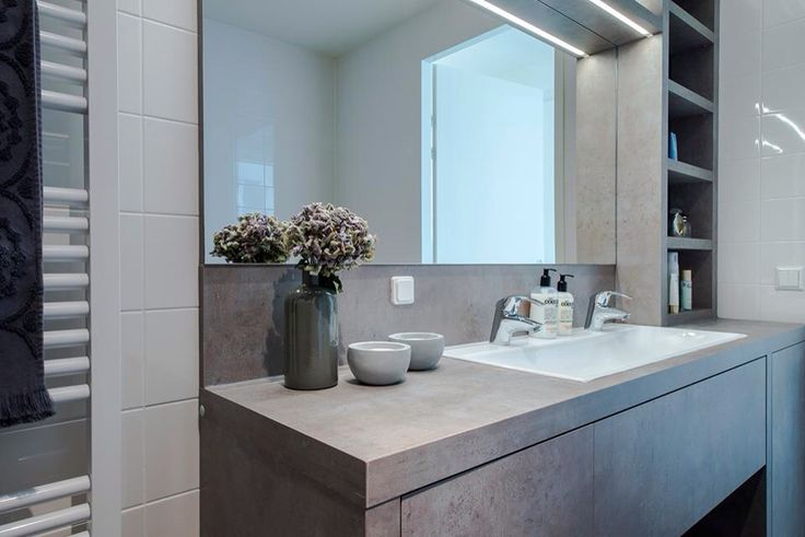 betonlook badkamermeubel ~ het beste van huis ontwerp inspiratie, Badkamer