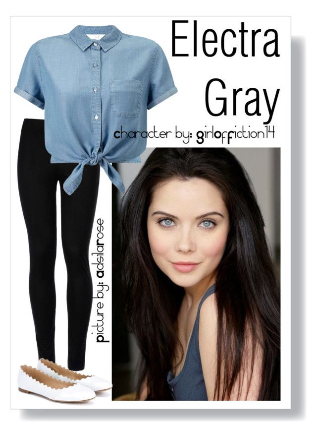 010: Electra Gray by adsilarose on Polyvore featuring polyvore fashion style Miss Selfridge Wolford Chloé clothing
