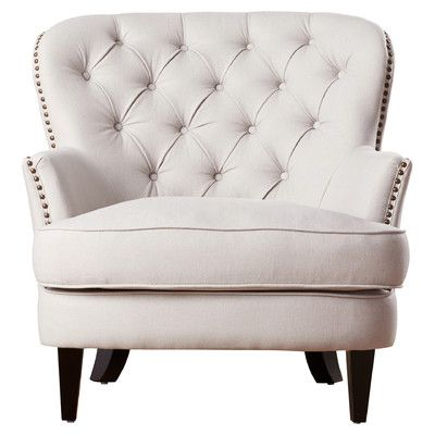 House of Hampton Greene Tufted Upholstered Club Chair & Reviews | Wayfair