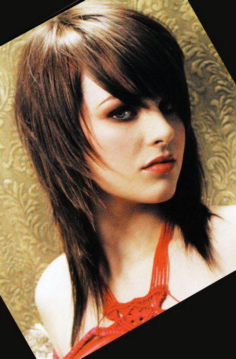 Coupe cheveux long degrade et effile
