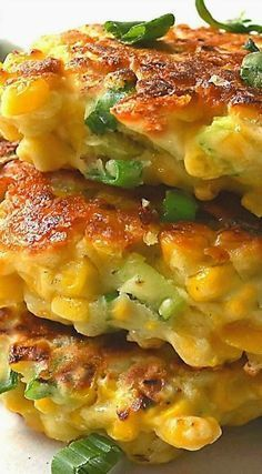 Mexican Corn Cakes with Jalapeno & Lime (Southern recipe)