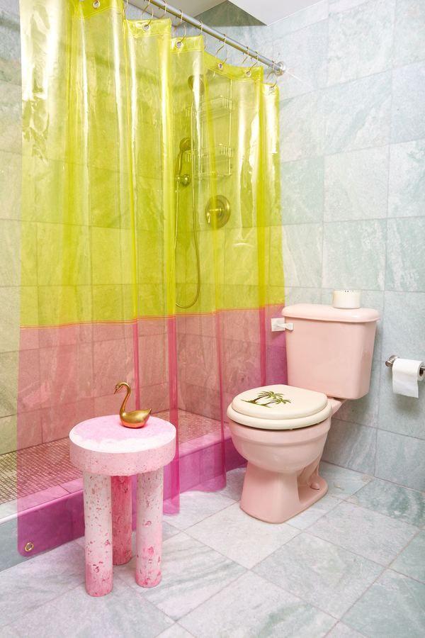 Quiet Town Sun Shower Curtains On Maison Maison Americaine Deco