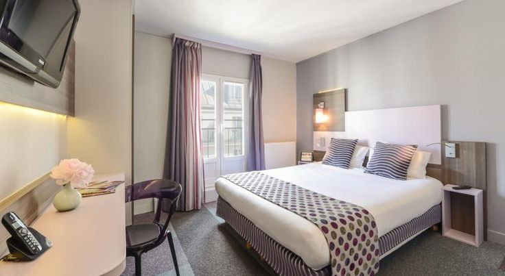 Comfort Hotel Nation Père Lachaise Paris Located in a lively district in central Paris, this hotel offers a 24-hour reception with a tour desk and provides free Wi-Fi access. Disneyland Paris is 30 minutes away on the RER train.