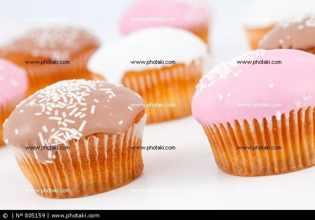 Do you like muffins?  http://www.photaki.com/picture-muffins-with-icing-sugar-placed-together_805159.htm