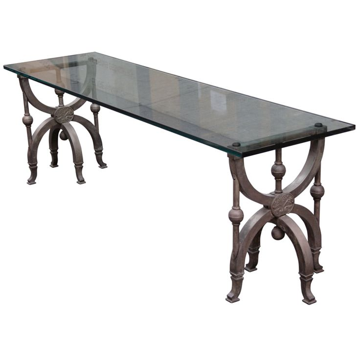 Venetian Style Silvered Bronze Coffee Table