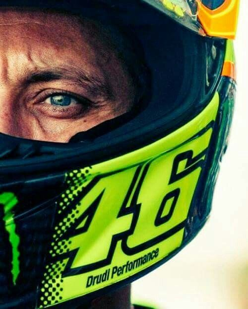 Valentino Rossi, my hero! Will always be your fan in good and bad times.