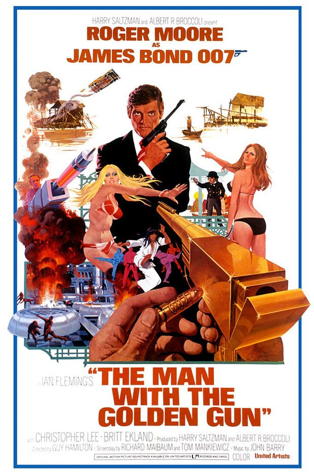 Completing the cool Bond Posters. It may become its own board. The artist is Robert McGinnis who defined James Bond and I suppose all of 1960's-70's pop art.