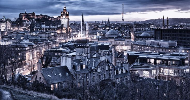 Auld Reekie - or as some call it, Edinburgh, capital city of Scotland. Auld Reekie means 'old smoke' - reek in the Scots language meaning smoke.