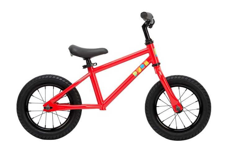 "Pure Cycles 12"" balance bike for kids ages 2 to 5. Lightweight, vegan leather stitched grips, adjustable mini saddle, rubber air tires, lifetime warranty on frame."