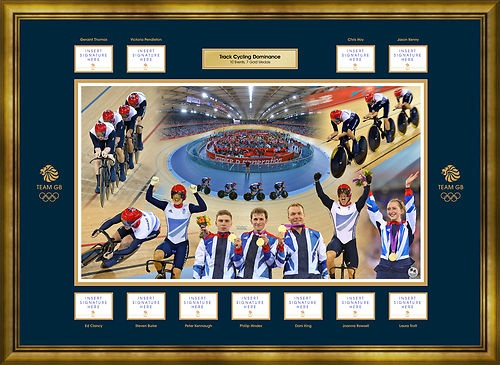 All 11 Track Cycling Gold Medalists Autographs - Team GB London 2012 Olympics | eBay