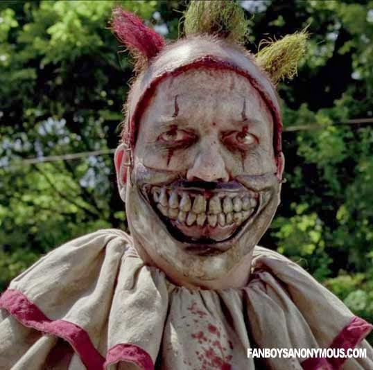 Twisty the Clown from American Horror Story: Freak Show.  twisty-clown-pic.jpg (538×534)