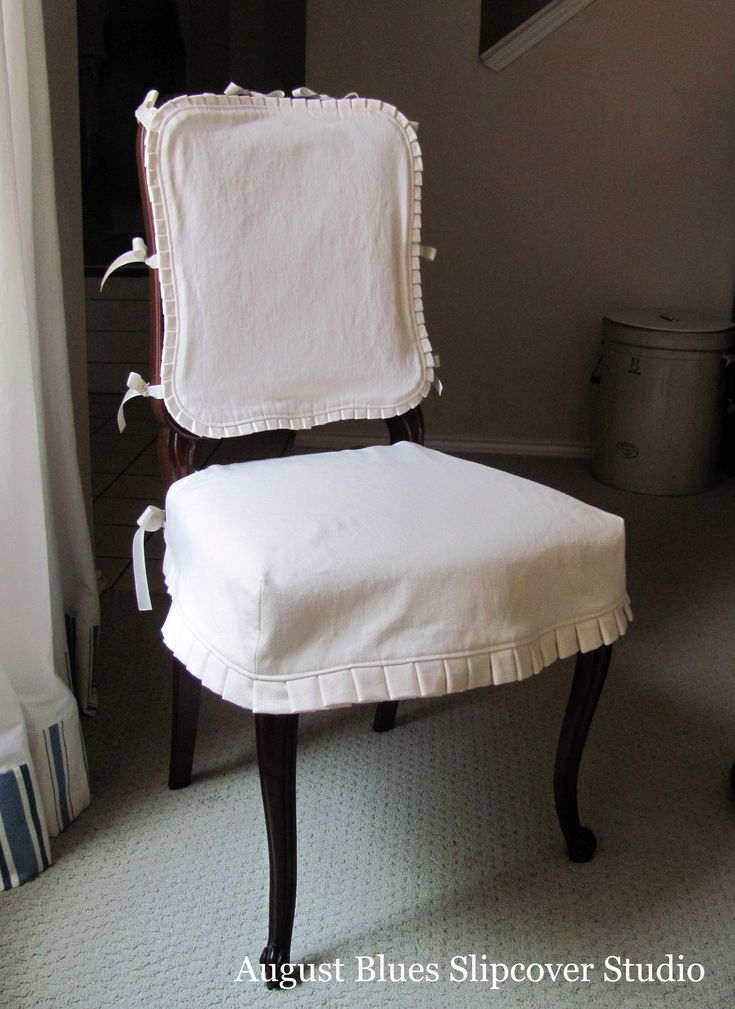 Dining Chair Seat Covers With Ties