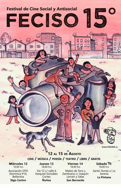 Feciso, significa Festival del cine social y antisocial en Chile