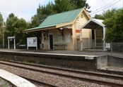 Bundanoon Train Station - love these old country train stations.