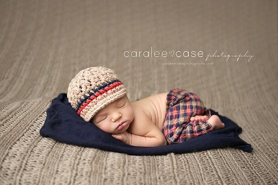 Crochet Hat for Baby Gender Neutral Hat by PBlossomBoutique