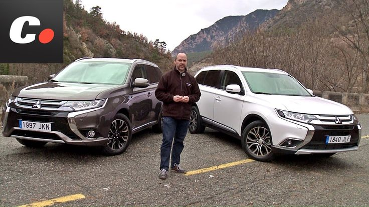 Mitsubishi Outlander SUV 2016 | PHEV vs Diesel | Prueba / Test / Review ...