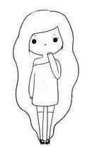 boneca tumblr linda