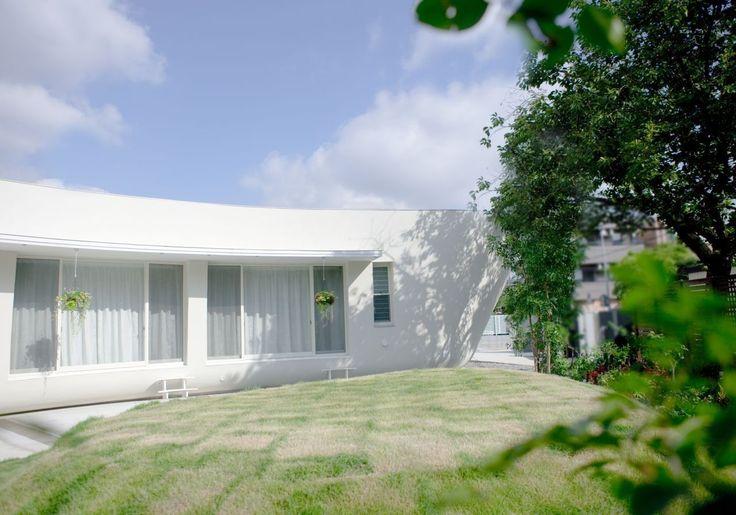 Innenhof-Garten Landschaftsbau Ideen Fluid Bio & nachhaltige Vermögenswerte Featured In ein japanisches Home von Hideo Kumaki Büro Architekten