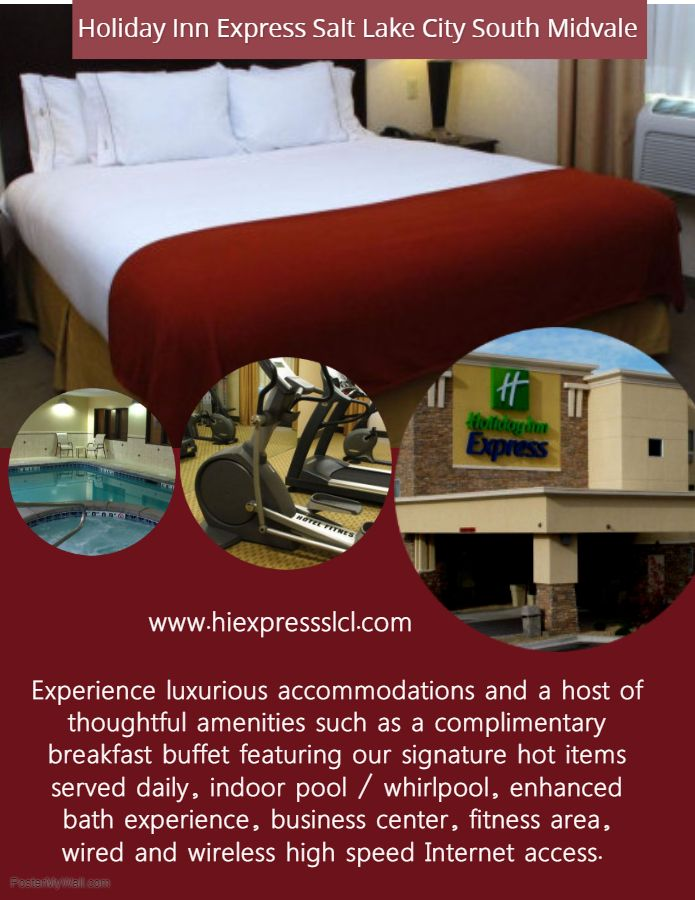 Holiday Inn Express Salt Lake City South Midvale Get Direction