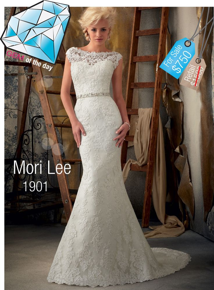 39 best Gem of the Day - Used Wedding Dresses images on Pinterest ...