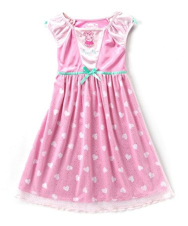 Look what I found on #zulily! Peppa Pig Nightgown - Toddler #zulilyfinds