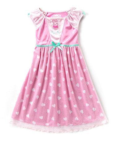 Look what I found on #zulily! Peppa Pig Nightgown - Toddler #zulilyfinds