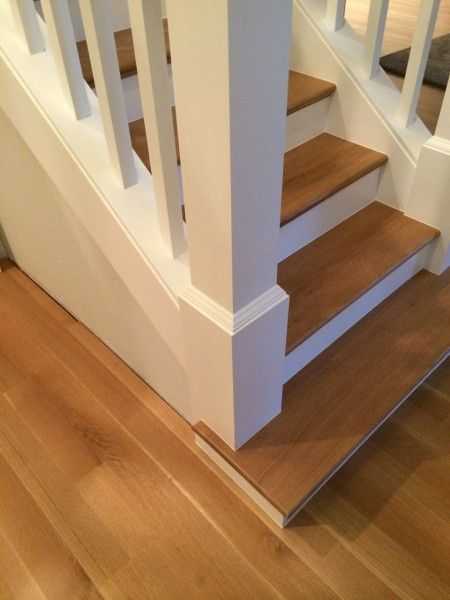 Enclosed Stair Staircase Convert To Open On One Side Without Rails In Treads Stairs