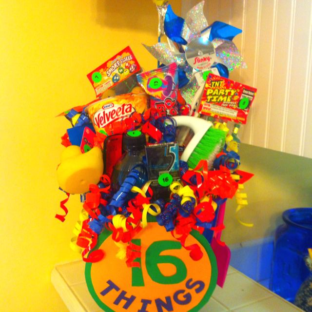 Birthday Gift For 16 Year Old...16 Things