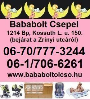 Minden, ami a babának és a mamának kell!, Budapest, XXI. [Pepita Hirdető]