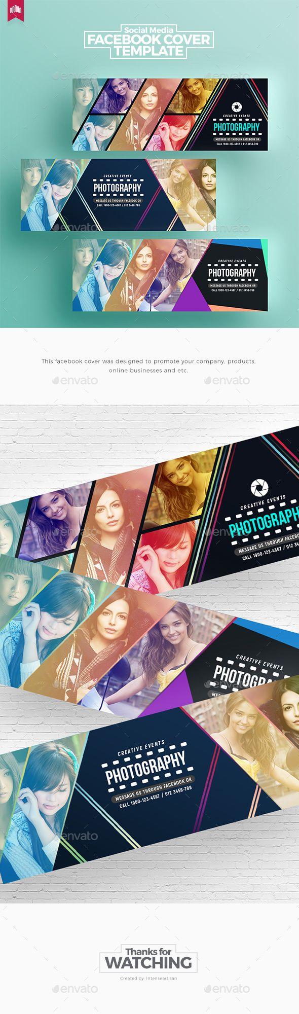 Creative Facebook Timeline Covers - Facebook Timeline Covers #Social #Media Download here: https://graphicriver.net/item/creative-facebook-timeline-covers/19995775?ref=alena994