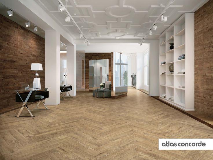 #AXI Golden Oak | #AtlasConcorde | #Tiles | #Ceramic | #PorcelainTiles.  Porzellan HolzfliesenHolzfliesenHolzoptik FliesePorzellanbodenConcordeWald