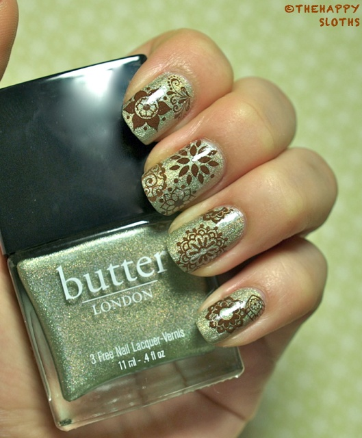 The Happy Sloths: Henna Nails: Manicure Featuring bigRuby Henna Nail Tattoos