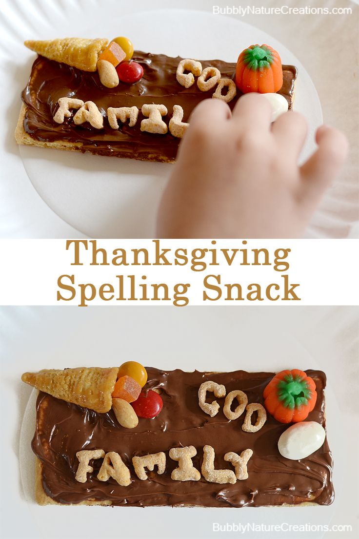 sponsored #alphabits Thanksgiving Snack Mix and Spelling Lesson w ...