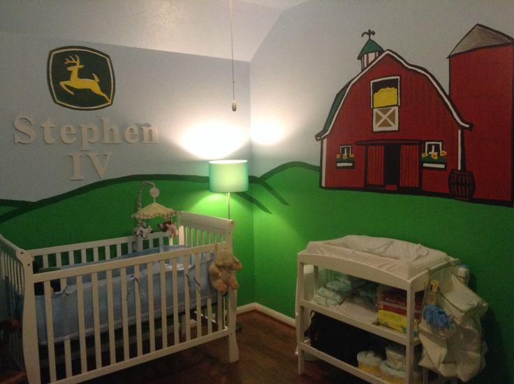 John Deere nursery.