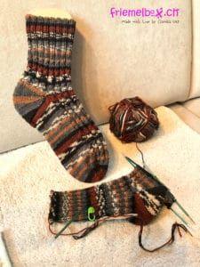 Meine Lieblings-Strickmuster für Socken