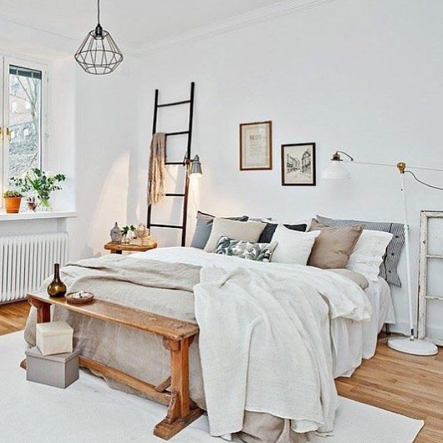 Delicieux 28 Gorgeous Modern Scandinavian Interior Design Ideas. Natural BeddingNatural  BedroomBedroom SimpleBedroom NeutralScandinavian Style ...