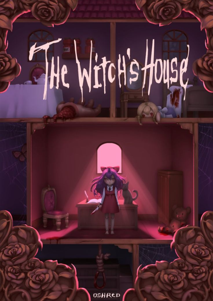 The Witch's House: Peek by oshRED.deviantart.com on @DeviantArt