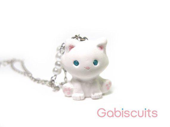 Witte katten ketting